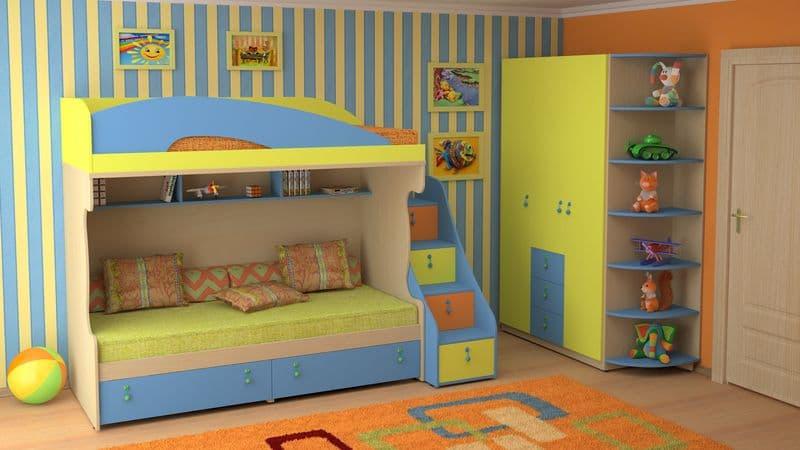 Детская мебель для детской комнаты в Казани. Магазин «500 диванов»