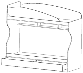Серия 1020187 Конструкции каркаса межвидового