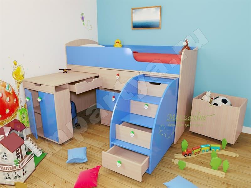 Кровать для девочки от 3 лет