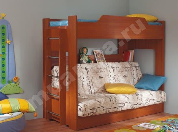 Кровать чердак с кроватью внизу  краснодар