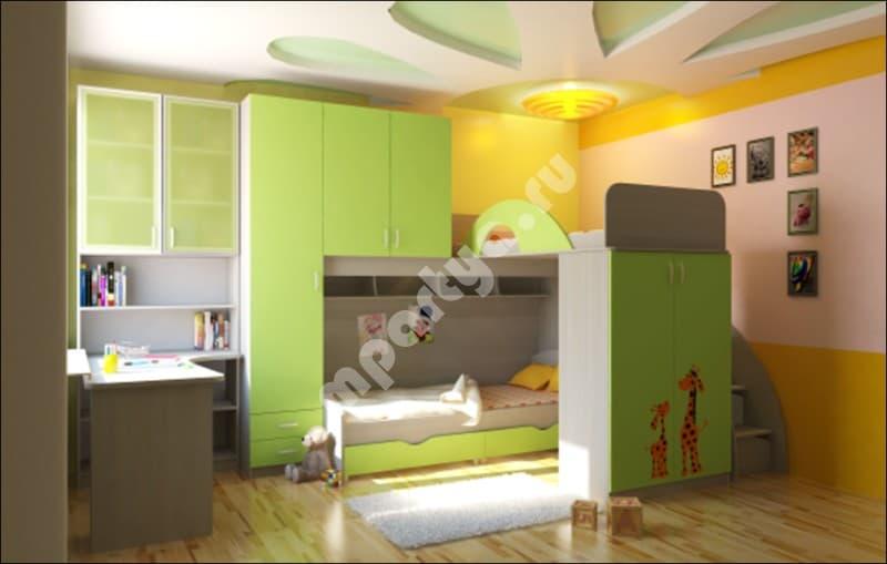 детские комнаты для двоих детей вся мебель в одном магазине